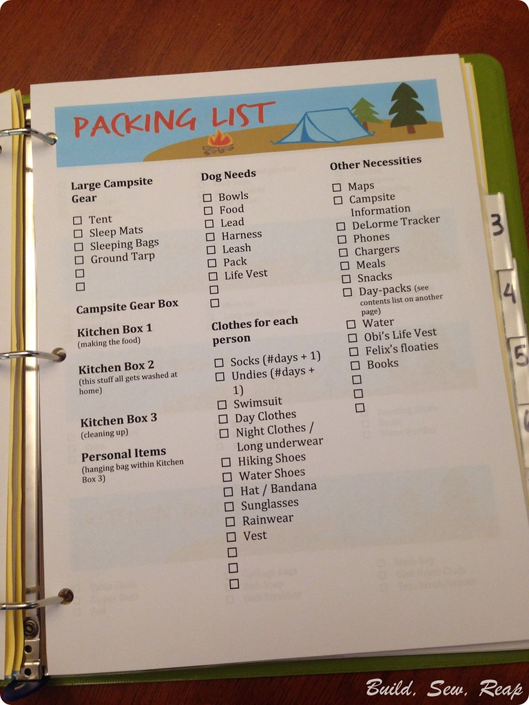 Camping Organization - 5