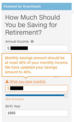 CNN retirement calculator