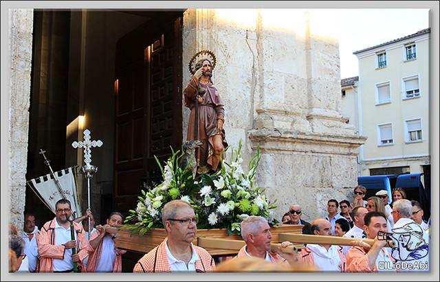 Briviesca Fiestas 2016 Procesión del Rosario y canto popular de la Salve  (4)