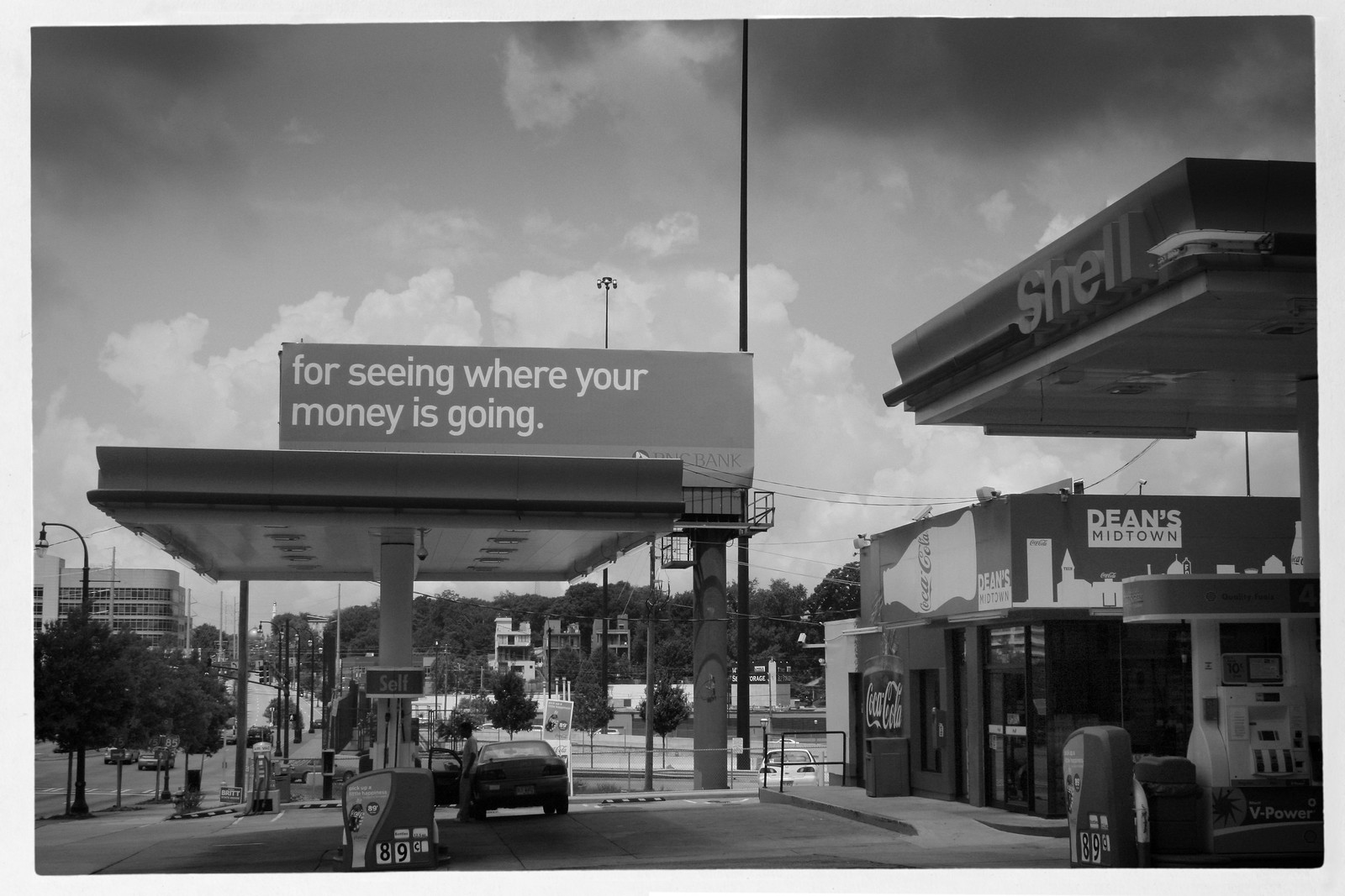 Dean's Midtown Shell Station, Atlanta
