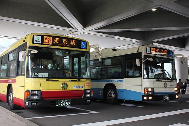 2016/08/12 東京都交通局 M202/M205