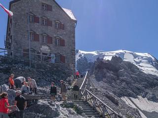 Payerhütte, 3029 m, Ortler, 3905 m