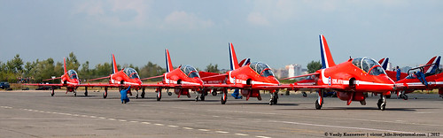 Red Arrows taxi for performance | by Vasily Kuznetsov