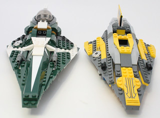Comparison to Anakin's Starfighter | by fbtb
