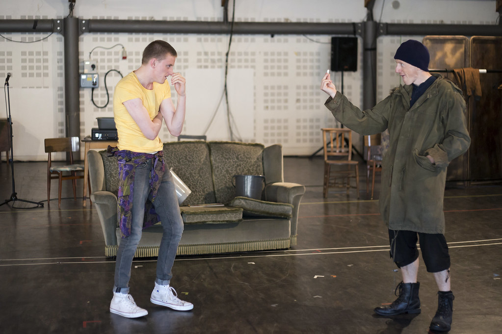 Trainspotting Rehearsal Photographs
