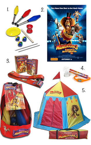 madagascar 3 prize pack | by babyspace blog
