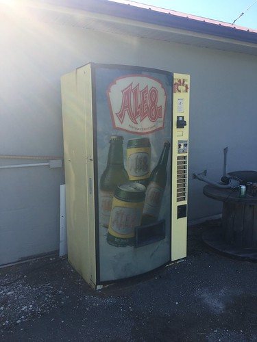 Ale8 vending machine