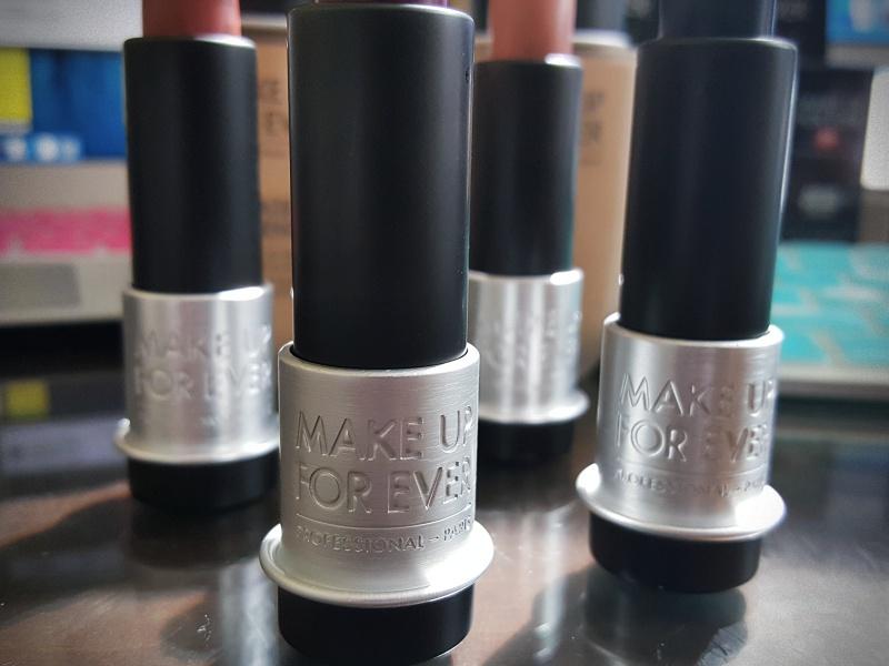 Make Up For Ever Lipsticks