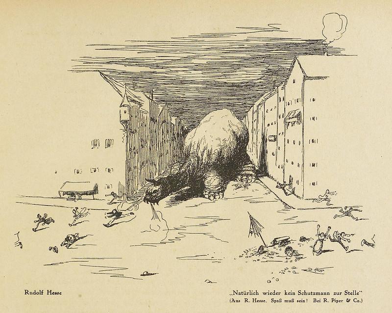 Der Orchideengarten - 1919, Rudolf Hesse