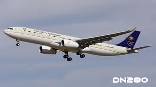Saudia A330-343 msn 1726