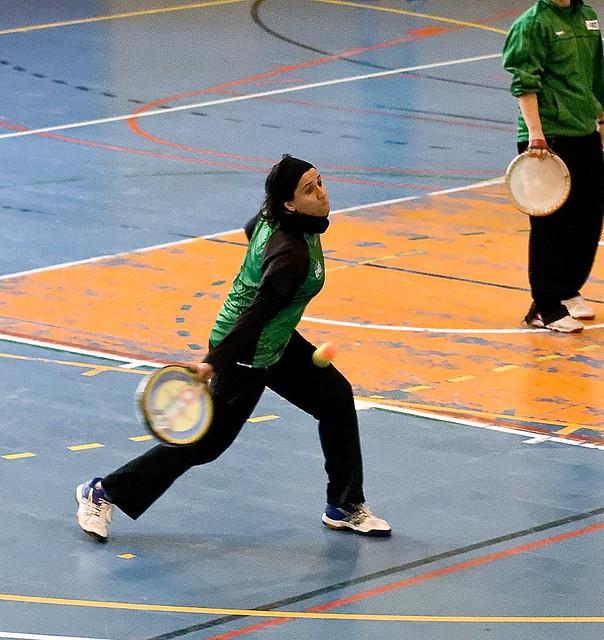 Galeria 5ª Jornada Lliga Catalana de Tamborí Femení 2014-2015 a Terrassa