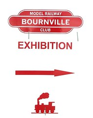 Bournville Show Sign