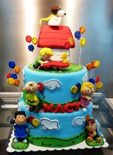 Snoopy Birthday Cake Photos