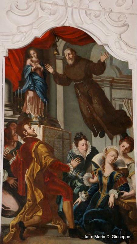 tele restaurate chiesa san francesco