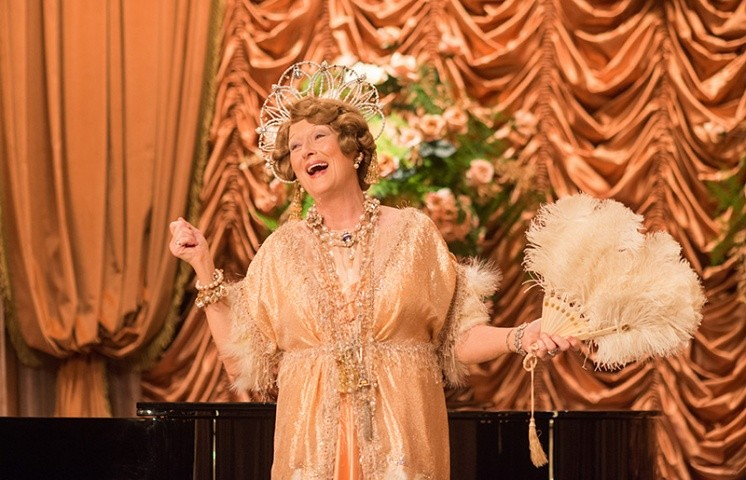 Meryl Streep gives her all in FLORENCE FOSTER JENKINS.
