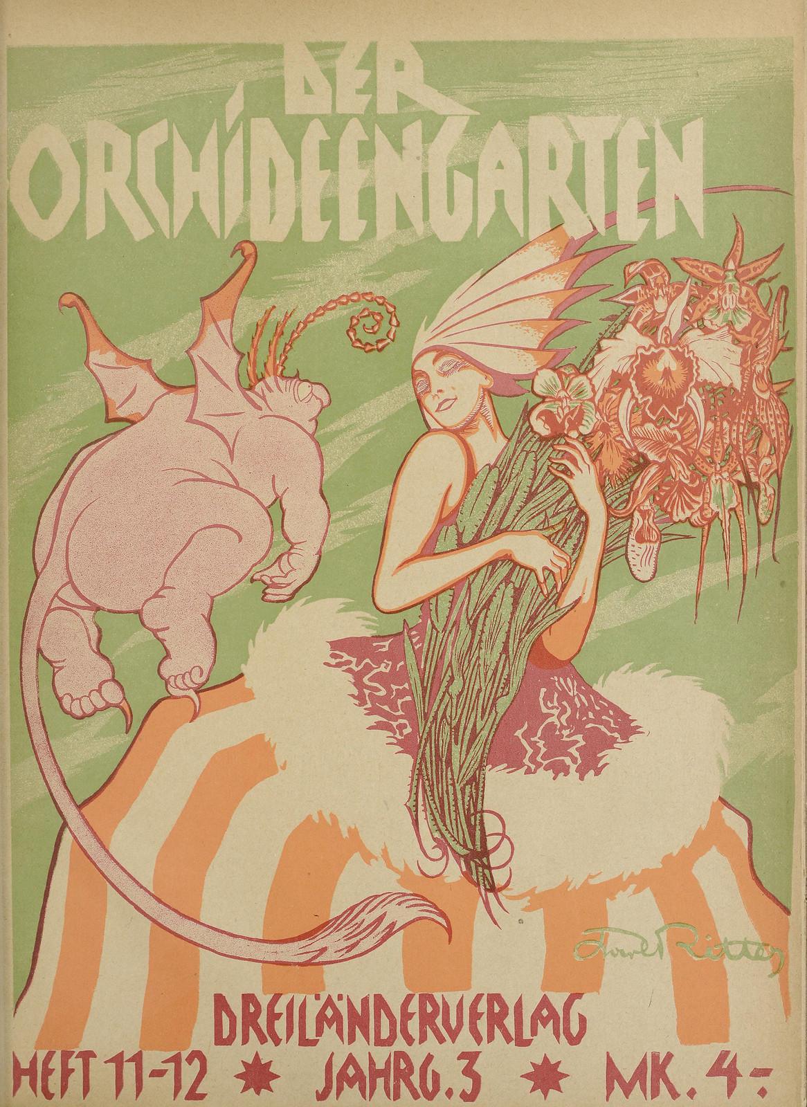 Der Orchideengarten - 1921 (Cover 10)