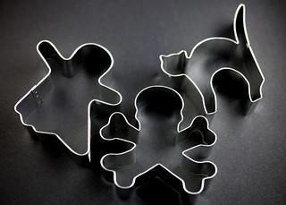 Halloween Cookie Cutters | by Bakerella