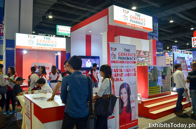 TGP Generics Pharmacy Exhibit Booth