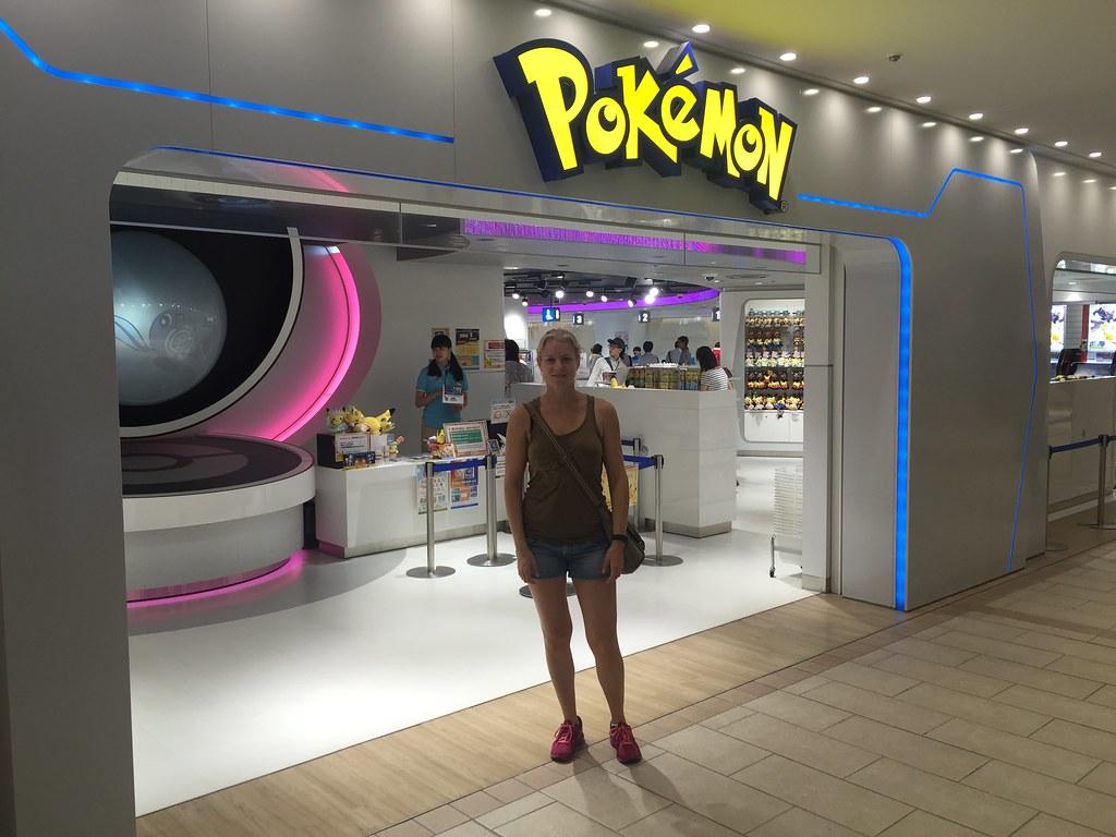 Pokémon store Sunshine City