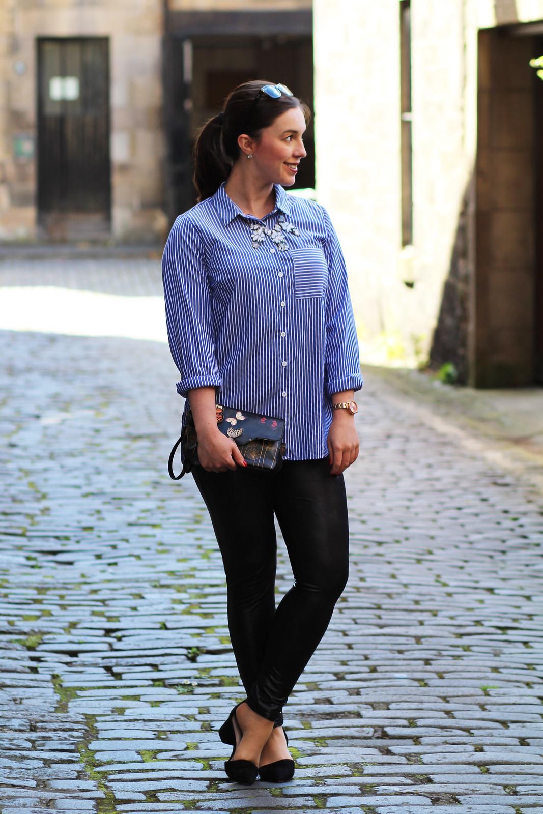 UK Edinburgh Fashion Blogger Scotland