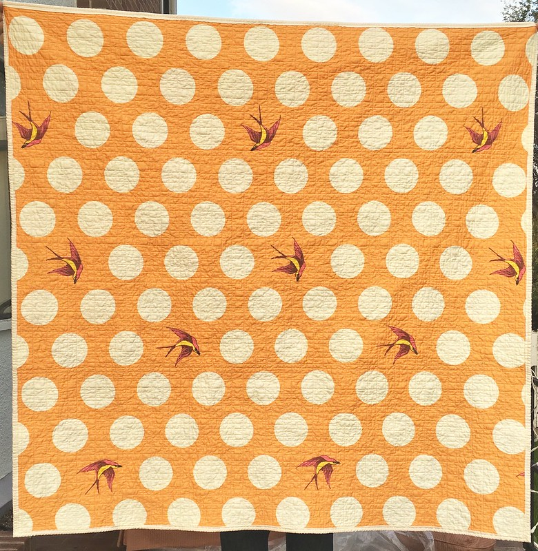Summer Breeze Quilt - back
