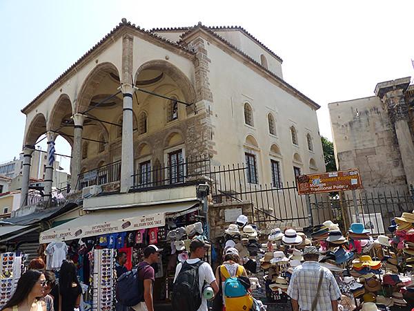 ancienne mosquée monastiraki