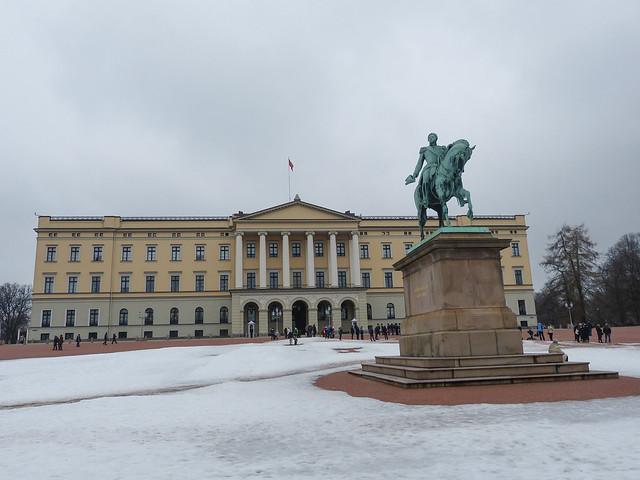 2016 Oslo - Stadt - Schloss