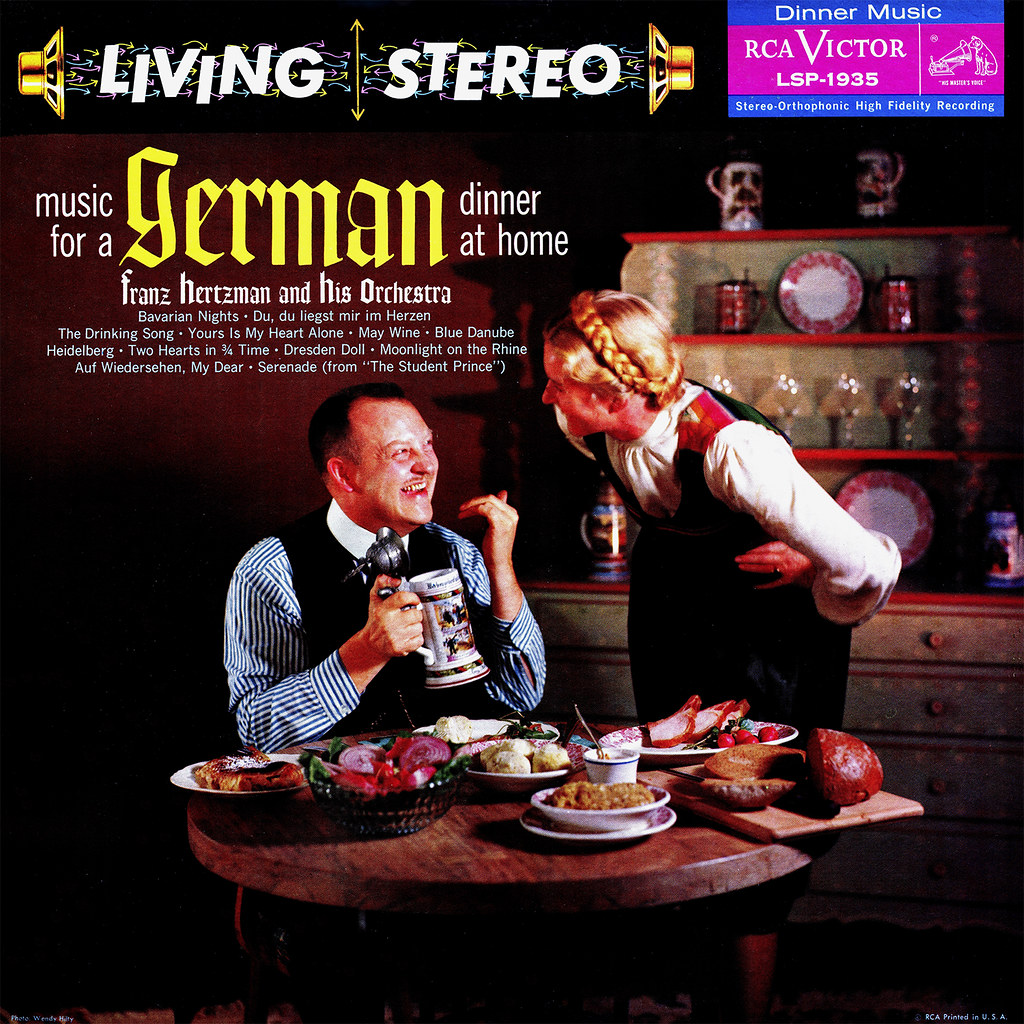 Franz Hertzman - Music For A German Dinner At Home