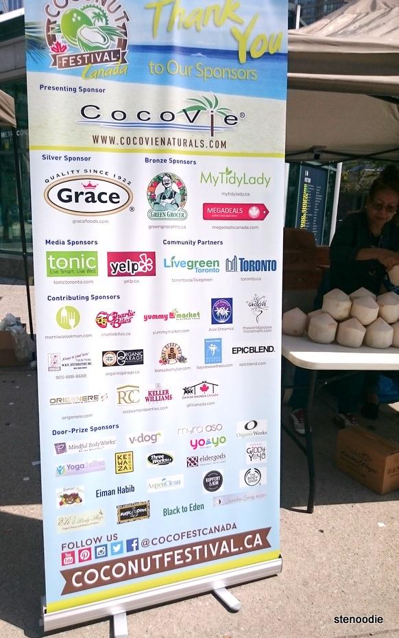 Coconut Festival 2016 Sponsors