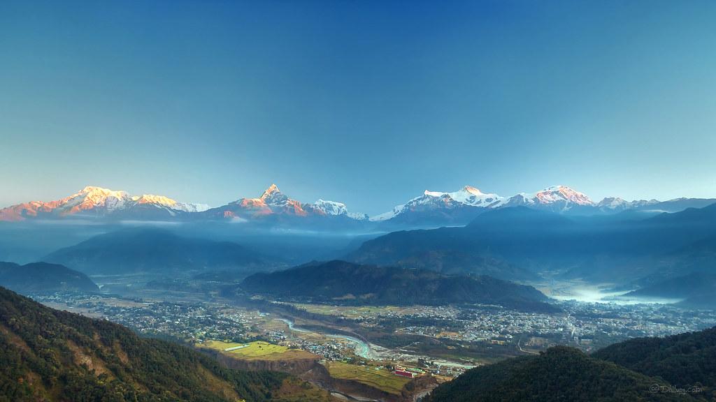 Sarangkot Sunrise, Pokhara, Nepal