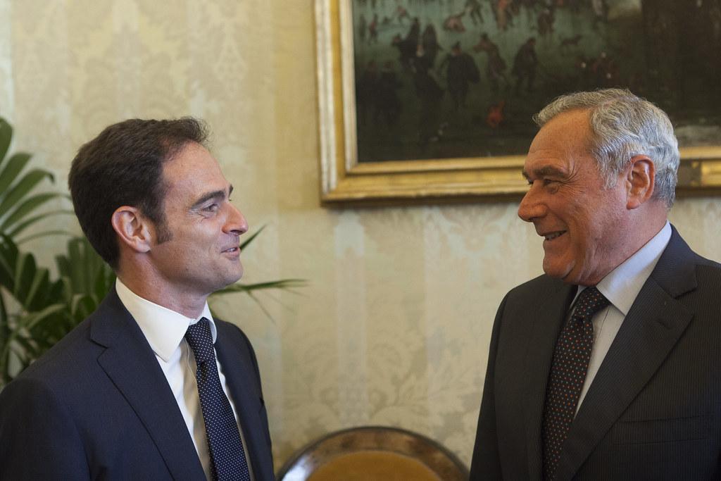 Incontro della Giunta AIGA con il Presidente del Senato Pietro Grasso. Roma, Palazzo Madama, 6 giugno 2016