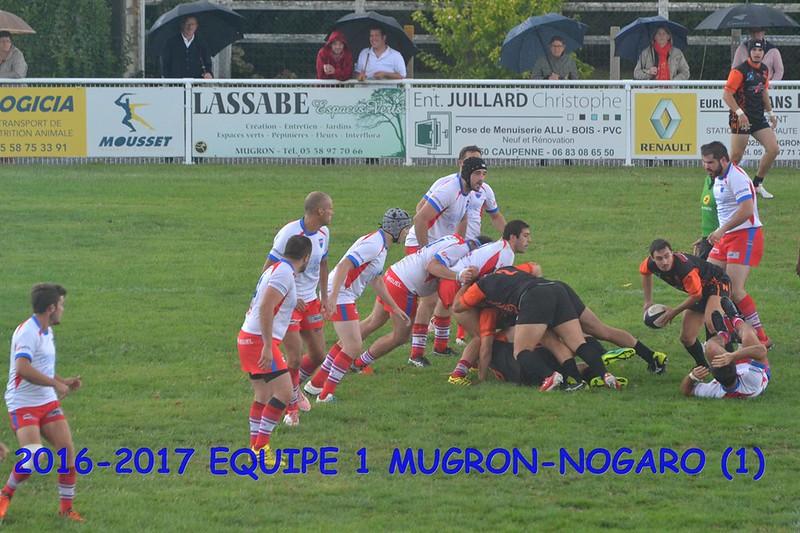 2016-2017 EQUIPE 1 MUGRON-NOGARO