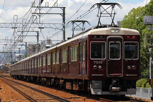 2016/08/30 阪急7000系C#7010×8