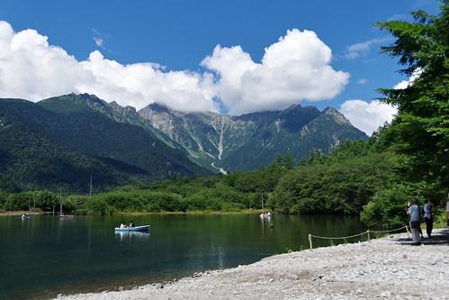 Taisho-ike pond Kamikochi 2016 summer 05