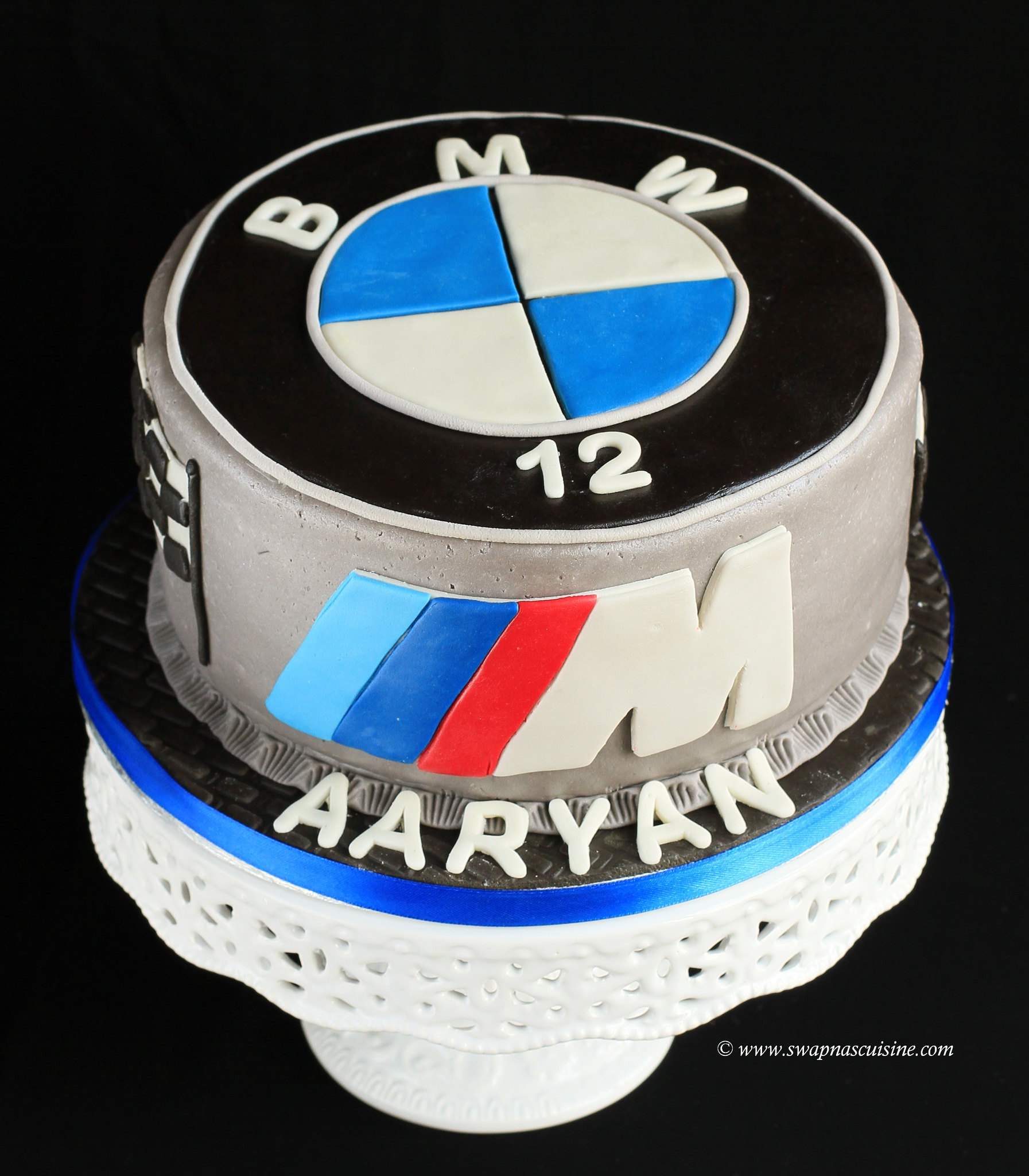 BMW Theme Birthday Cake