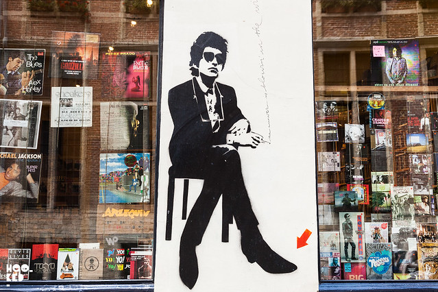 Jef Aerosol, Stencil work in Brussels, Belgium. Photo ©Mark Rigney / Hookedblog