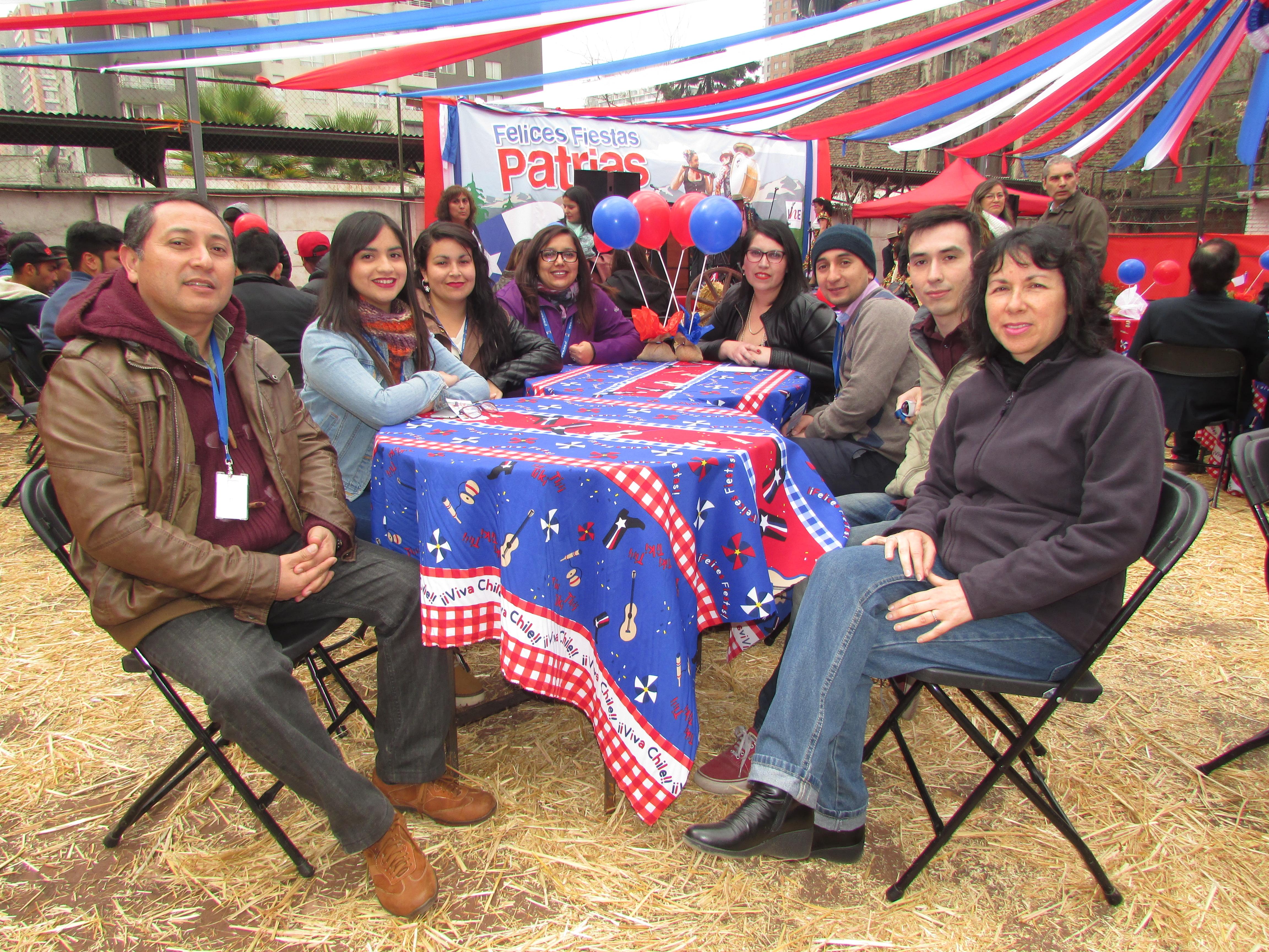 Celebración Fiestas Patrias en el INE - 16 Septiembre 2016
