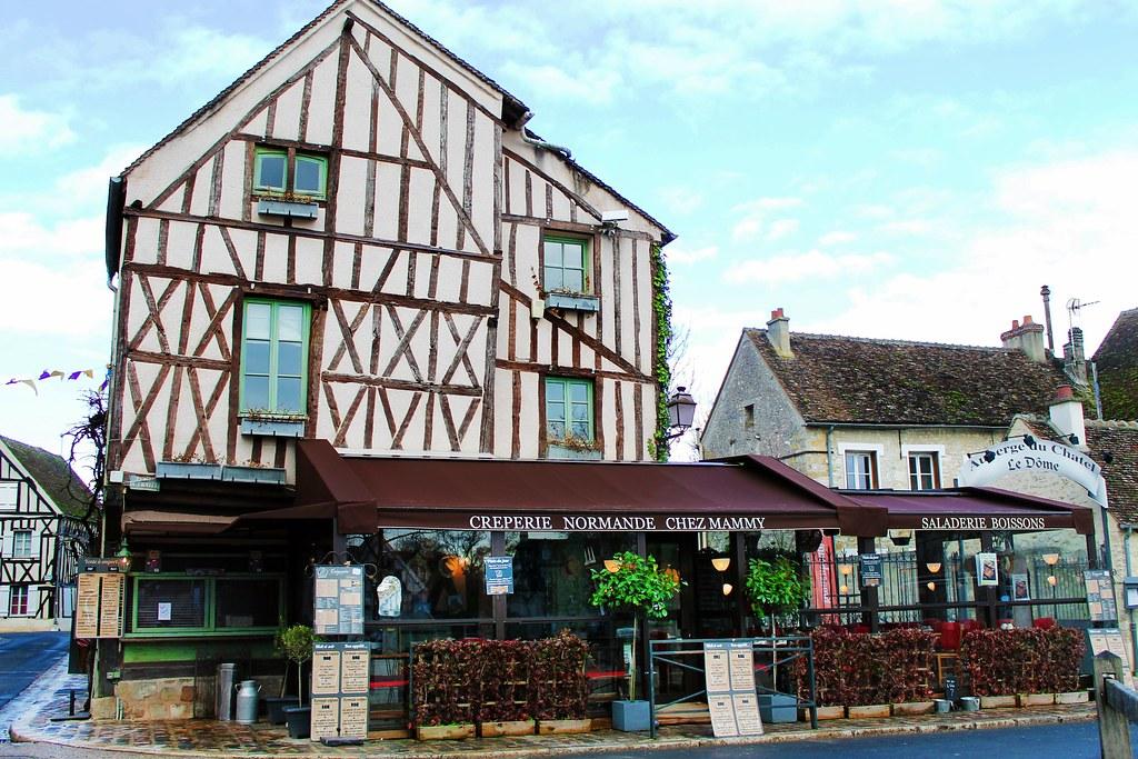 Drawing Dreaming - um dia em Provins - onde comer - Chez Mammy