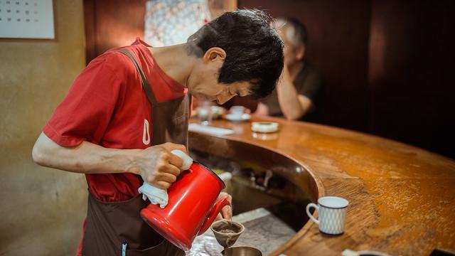 日本/東京/銀座–朝聖之地–琥珀咖啡/CAFE DE L'AMBRE/カフェ・ド・ランブル