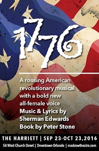 1776 – the Founding 'Mothers' ! at Mad Cow Theatre