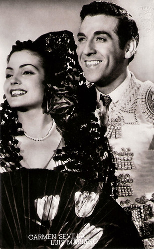 Carmen Sevilla and Luis Mariano in Andalousie (1951)