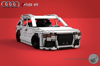 Audi RS6 Avant - 11-wide - Lego