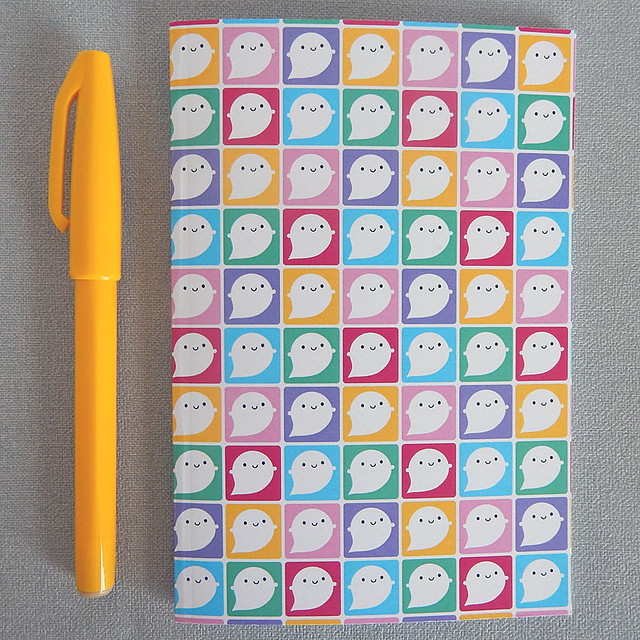 Colourful Little Ghosts Pocket Notebook