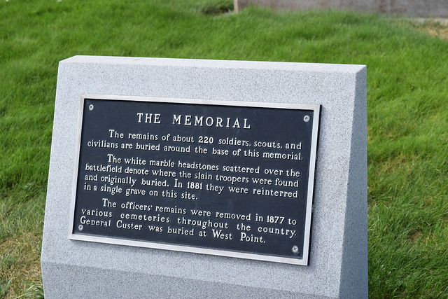 Last Stand Hill Memorial