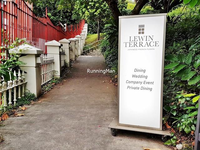 Lewin Terrace Signage