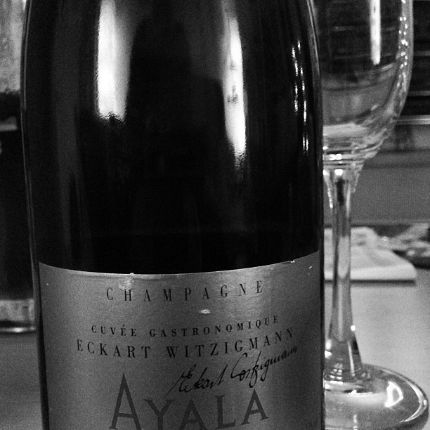 Trinkgewohnheiten New Year 2013 with AYALA Champagne Cuvée Eckart Witzigmann. Happy New Year! Work Hard, Party Hard!
