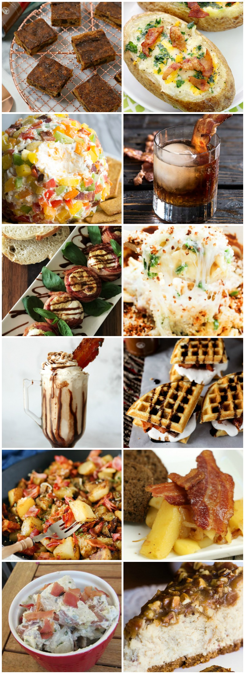 twelve delicious bacon recipes