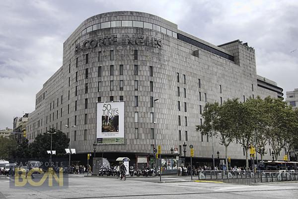 la Plaça, El Corte Inglés, Barcelona