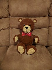 Rebuilt Teddy on Couch