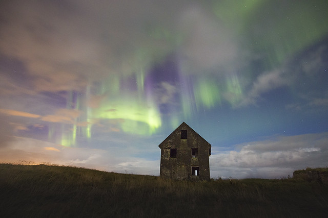 Abandoned house at South West Coastline - Iceland